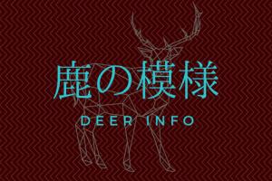 鹿は夏毛と冬毛で見た目が違う!鹿の体の模様「鹿の子模様」とは?