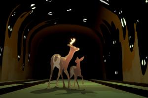 2匹の鹿が主人公のアドベンチャーゲームが2019年にリリース予定!